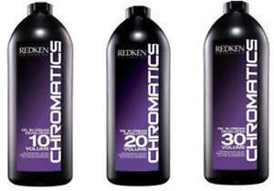 Redken Chromatics Oil in Cream Developer (CHOOSE YOUR VOLUME)