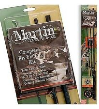Martin 8ft. Panfish Fly Fishing Rod, Reel, Line, Flies, Complete Kit, New