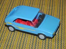 Vintage 1986 Suzuki Swift GSi Playmobil Geobra Blue Rally Racing Car