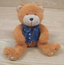 "Genuine Harley Davidson Motor Cycles 6"" Plush / Stuffed Orang Brown Bear *READ*"