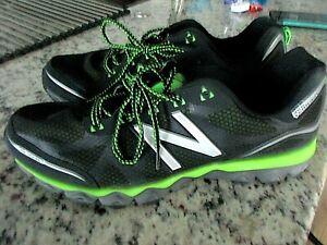 New Balance Men's MT710BG2 Trail Running Shoes Black/Green Size 15D