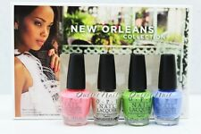 Opi New Orleans Collection Jambalayettes Spring Summer 2016 Mini Pack 4pc Dcn23