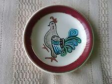 Simpsons Potters Ltd Cobridge Solian Ware Queens Maroon pin dish
