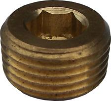 "Pressure Washer Cleaner 3/8"" Countersunk Port Blocking Hex Socket Plug / Cap"