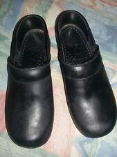 DANSKO PROFESSIONAL CLOGS Cabrio Black. Leather 36 Size 6