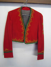 vtg Almas Band Marching Band Uniform Jacket 1935 Abrahams & Co Shriners S 39 USA