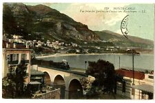 CPA 06 Alpes-Maritimes Monaco Monté-Carlo Vue prise des Jardins du Casino