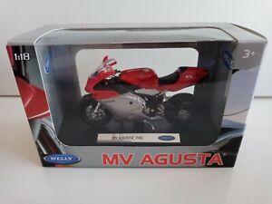 WELLY 1/18 MV AGUSTA F4S