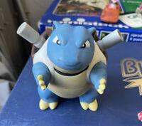 "Pokemon Blastoise 5"" Tomy DX figura vintage Japan 1998-RARO"