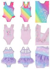 Girls Unicorn Swimming Costume Swimsuit Three Designs 3-6 Months to 5-6 Years
