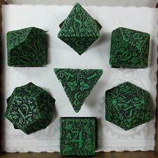 Q-Workshop Forest Green Dungeons and Dragons D&D Dice Set