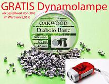 OAKWOOD BASIC DIABOLOS - LUFTGEWEHRKUGELN 4,5MM- STAFFELPREIS-MADE IN GERMANY