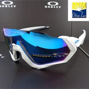 OAKLEY FLIGHT JACKET 9401 02 Prizm Sports Racing Cycling 940102 Sunglass
