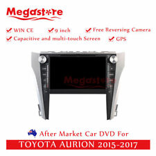 "9"" Car DVD GPS Navigation Head Unit Stereo For TOYOTA AURION 2015-2017"