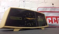 Vintage Desk Clock Made In USSR By Majak Mid Century Retro Mantel Clock