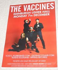 THE VACCINES - UK live music show memorabilia concert gig tour poster