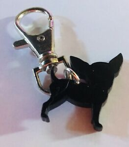 Chihuahua Pet.Dog Collar Charm.CLIP On LEAD.HARNESS.BAG TAG  FUN GIFT Mexico.