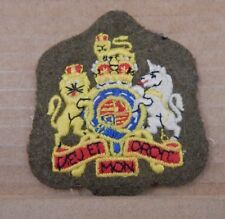 British Army Warrant Officers Cloth Rank Badge Patch genuine badge