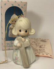 New ListingPrecious Moments I Believe In The Old Rugged Cross ornament 522953