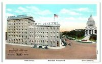 Early 1900s Park Hotel, Madison, WI Postcard