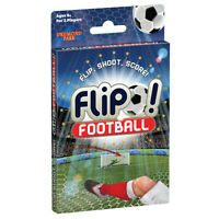T73004 Flip Football 2-Player Childrens Card Game Flip, Shoot, Score! Ages 8+