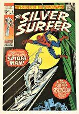 Silver Surfer #14 1968 Series VF/NM, Guide Book Value $238.00 (copy 1)