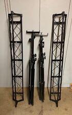 More details for kamstands 3m long triangular truss dj lighting support rig