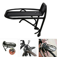 Alloy Bike Cargo Front Rack MTB Bicycle Luggage Quick Release Cycling Carrier