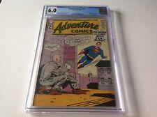ADVENTURE COMICS 301 CGC 6.0 LEX LUTHOR KRYPTO BOUNCING BOY ORIGIN DC COMICS