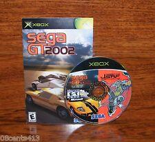 SEGA GT 2002 / Jet Set Radio Future (Combo Disc) (Xbox) *Disc & Sega Manual*