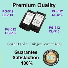 2x Ink Cartridge PG512 CL513 for Canon Pixma MX330 MX340 MX350 MX320 MX410