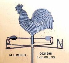 Gallo galletto segnavento in ferro banderuola con punti cardinali da esterno