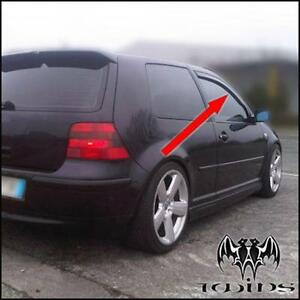 Deflettori Aria Antiturbo Oscurati VW Golf IV 4 3p 1997-2003 3 porte