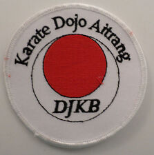 Martial Arts Embroidered Sew On Uniform Patch Karate Dojo Airtrang Djkb