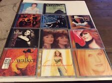 LOT OF 11 COUNTRY CDS CARRIE UNDERWOOD CLAY WALKER JUDDS TRISHA YEARWOOD