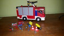 Playmobile Fuego Motor 4821 paquete plus instructions 3 Figuras Accesorios