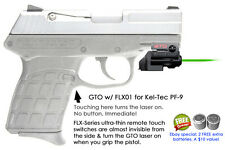 ArmaLaser GTO for Kel-Tec PF-9 GREEN Laser w/ FLX01 Grip Touch On/Off Activation