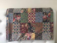 Crisp ~ Vintage Ralph Lauren Darby Patchwork ~ King Flat Sheet ~ RARE