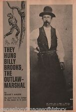 Billy Brooks Outlaw Marshal of Newton, KS+Beard,Brown,Calkins,Davis,Hasbrouck