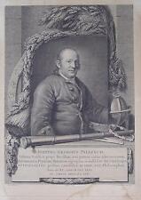 Johann Georg Palitzsch Fernrohr Globus Astronomie Halleyscher Komet Anton Graff