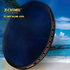 ZOMEI 82mm 18 layer Multi Coated HD Polarizer Slim CPL filter waterproof SHOTT