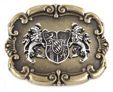 c2c6fbd0687595 Gürtelschnalle - Schließe - Wappen Bayern Löwen in messing - Geschenk  Geburtstag