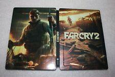 Far Cry 2 Steelbook PC G1 SIZE STEELBOX METAL CASE