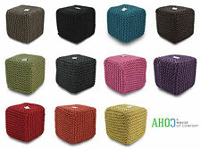 Cotton Blend Traditional Ottomans & Footstools