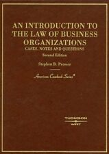 An Introduction to the Law of Business Organizatio