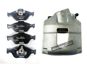 FOR FORD FIESTA 5 2001-10 FRONT LEFT BRAKE CALIPER + BRAKE PADS & FREE LUBRICANT