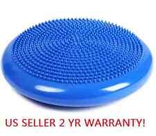 14 Inch Blue  Balance Stability Disc Yoga Cushion Fitness