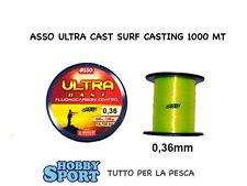 FILO ASSO  ULTRA SURFCASTING GIALLO 0,36 mm 1000 MT
