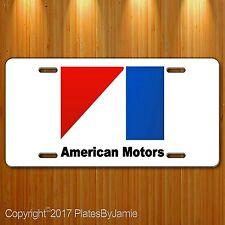 AMC American Motors Company AMX Javelin Gremlin Aluminum License PLate Tag New