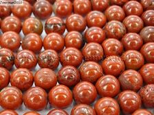Natural Red Jasper Gemstone Round Loose Beads 16'' 4mm 6mm 8mm 10mm 12mm 16mm